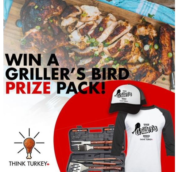 Canadian Turkey Giveaway – Win 1 of 3 Deluxe BBQ Tool Sets and more