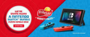 Frito Lay 2021 – Enter your code and win Nintendo Switch Consoles at fritolaycontest.ca