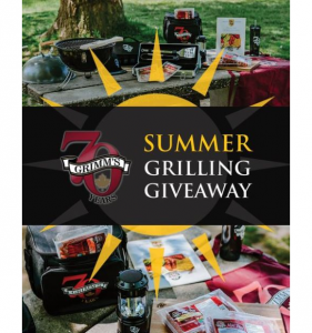 Grimm's Summer  – Win a Summer Grilling Grand Prize valued at $350 and more