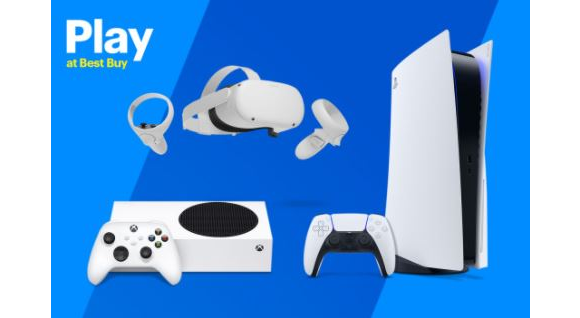 Play at Best Buy Gaming  – Win a PlayStation 5 package, an Xbox package and more