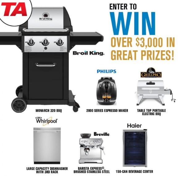 TA Appliance Home Show  – Win over $3,000 in prizes