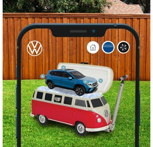Volkswagen Taos at my House  – Win a $1,000 VW Collection Summer Prize Pack