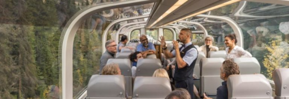 Aeroplan On Track to Luxury  – Win a trip for two on a luxury Rocky Mountaineer rail journey