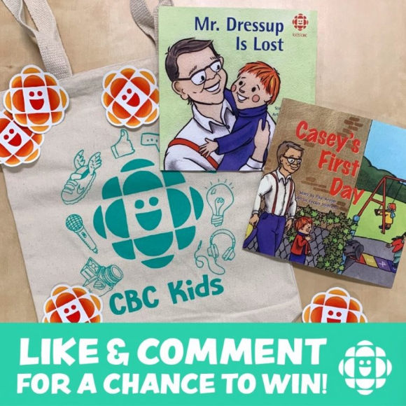 CBC Kids Giveaway – Win 1 of 10 Mr. Dressup prize packs