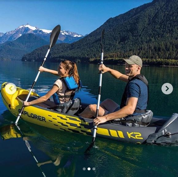Chicken.ca Summer Giveaway – Win an Intex Explorer 2-Person Inflatable Kayak Set + Igloo cooler