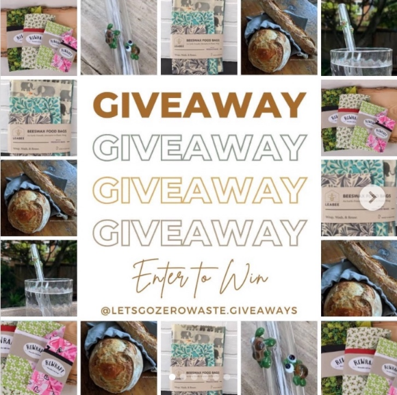 Let's Go Zero Waste Giveaway – Win a low waste essentials prize pack valued at $216