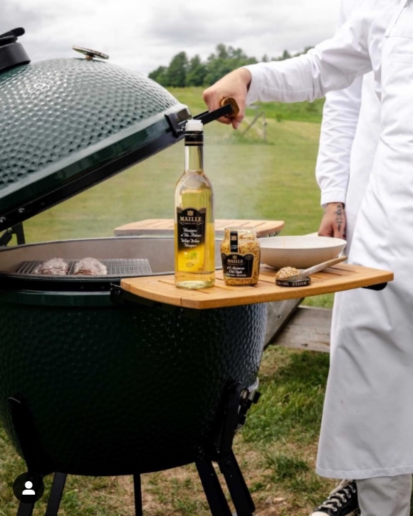 Maille BBQ Giveaway – Win a big Green Egg original kit valued at $2,000 and more