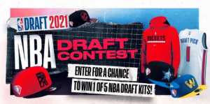 NBA Draft  – Win 1 of 5 NBA Draft kits