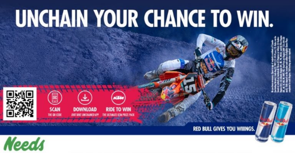 Red Bull KTM Dirt Bike Unchained 2021 – Win 1 of 3 dirt bikes valued at $13,434