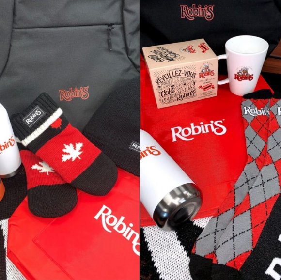 Robin's Donuts  – Win an indoor or outdoor prize pack