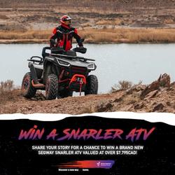 Segway Powersports – Win a Segway Snarler ATV