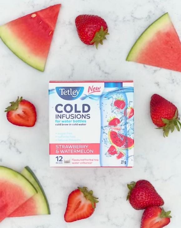 Tetley Giveaway – Win a Cold Infusions prize pack