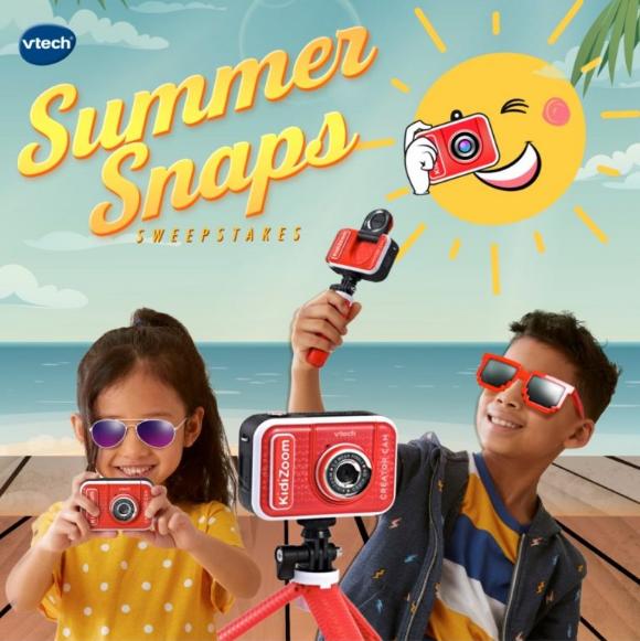 VTech Summer Snaps  – Win a VTech KidiZoom Creator Cam