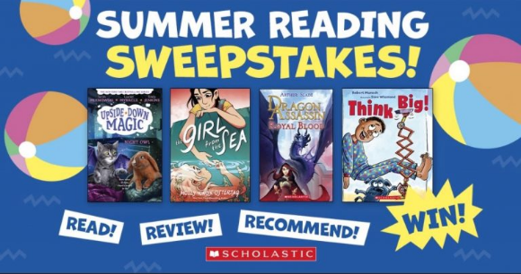 Win a book prize worth $100 from Scholastic Canada –