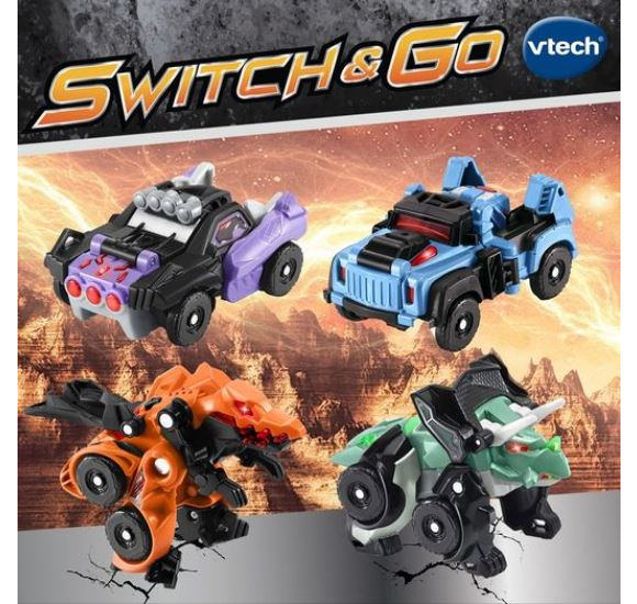Win a Switch & Go Dino bundle from VTech Toys –