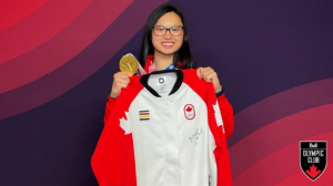 Win a Team Canada podium jacket signed by Margaret Mac Neil, Canada's first medallist in Tokyo –