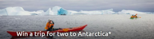 Win a trip for two to Antarctica valued at $25,000 from Intrepid Travel –