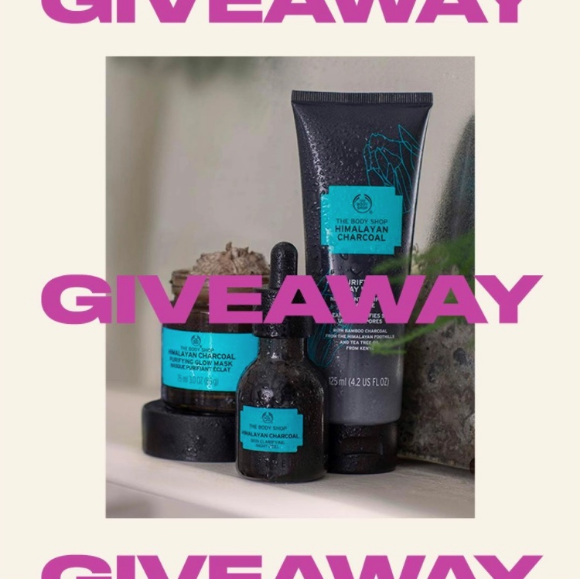 Win 1 of 5 $100 e-gift cards to The Body Shop –