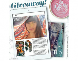 BLU'S Giveaway – Win a TILO scarf valued at $175