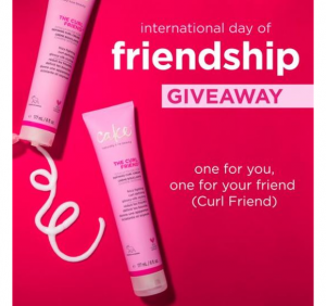 Cake Beauty  – Win a Curl Friend Cream for you and another one for a friend