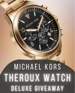 Steamy Kitchen Giveaway – Win a Michael Kors Luxury Watch