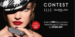 Elle  – Win a Set of 6 Lipsticks From Guerlain valued at $616