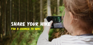 Great Canadian Hike  – Win part of $4,000 worth of VIA Rail travel credits and more at greatcanadianhike.ca