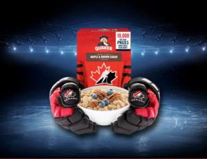 Quaker Hockey Hungry  – Win 1 of 10 Hockey Prize Packs valued at $1,500 at QuakerHockeyHungry.ca