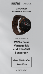 Win KINeSYS Polar Giveaway