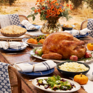 Win 1 of 3 a catered Thanksgiving dinners + a $500 gift card from Wayfair –