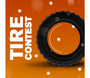 Mr. Lube Tire  – Win a set of tires valued up to $1,500