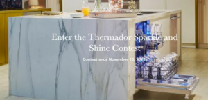 Thermador Sparkle and Shine  – Win 1 of 3 Thermador Emerald Dishwashers valued at $2,419 each